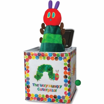 "Kids Preferred 5.5"" The Very Hungry Caterpillar Jack in The Box"
