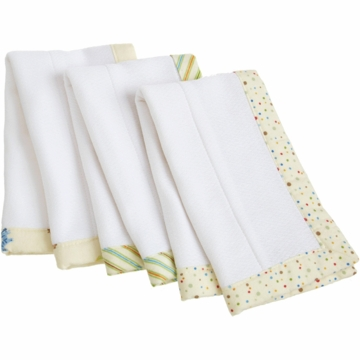 Carter's 3 Pack Burp and Lap Pads - Animal