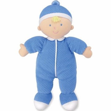 "Kids Preferred 12"" Baby Boy Doll in Blue"