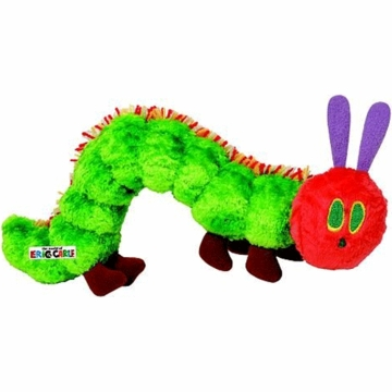 "Kids Preferred 7"" The Very Hungry Caterpillar Bean Bag"