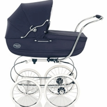 Inglesina Classica Pram with Diaper Bag in Marina