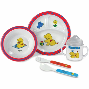 Kids Preferred Spot 5 Piece Feeding Set
