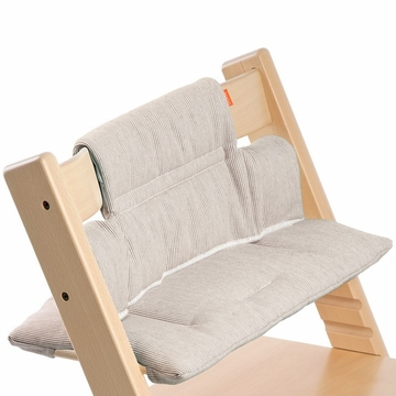 Stokke Tripp Trapp Cushion in Grey Loom