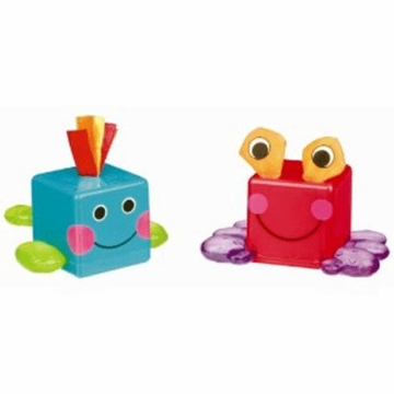 Sassy Traveling Teether Blocks