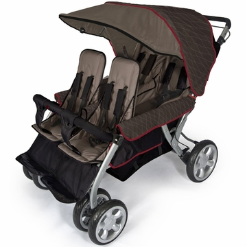 Foundations LX 4-Passenger Stroller - EarthScape