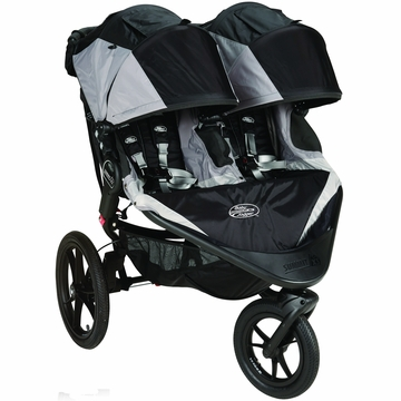 Baby Jogger Summit X3 Double Stroller - Black / Gray