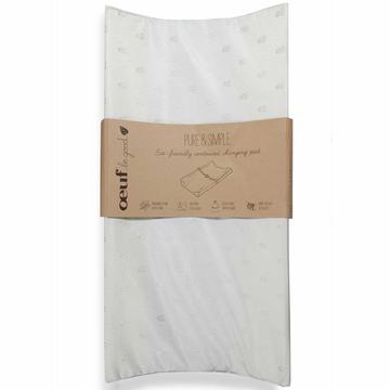 Oeuf Pure & Simple Eco-Friendly Contoured Changing Pad