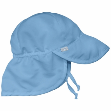 iPlay Solid Flap SunPro Hat - Light Blue - Infant (6-18 mo)