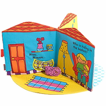 Tiny Love 3D Book Home Sweet Home Multi Textured