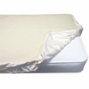 Naturepedic Waterproof Organic Cotton Protector Pad for Crib Mattress (Fitted)
