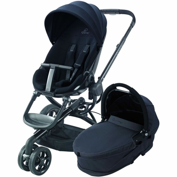 Quinny Moodd Stroller & Bassinet - Black Devotion/Black