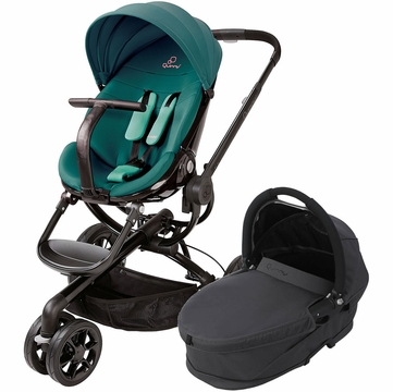Quinny Moodd Stroller & Bassinet - Green Courage/Black