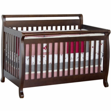 DaVinci Emily 4-in-1 Convertible Crib in Espresso
