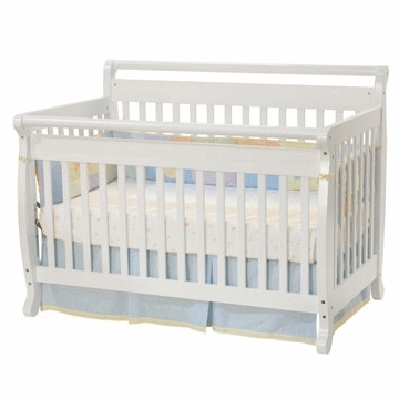DaVinci Emily 4-in-1 Convertible Crib in White