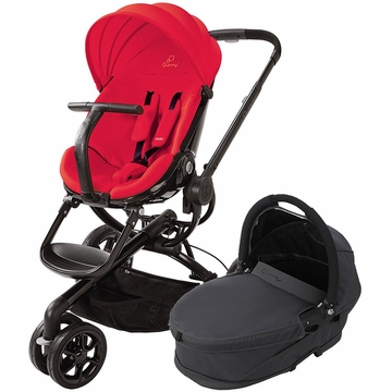 Quinny Moodd Stroller & Bassinet - Red Envy/Black