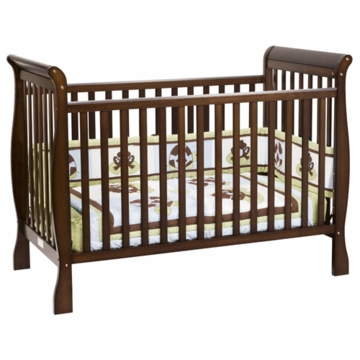 DaVinci Jamie 4-in-1 Stationary Convertible Crib in Espresso