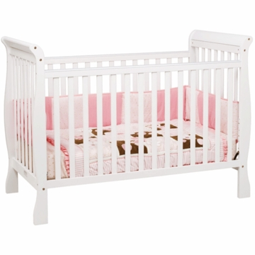 DaVinci Jamie 4-in-1 Stationary Convertible Crib in White