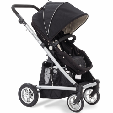 Valco Baby Spark Single Stroller in Black Out