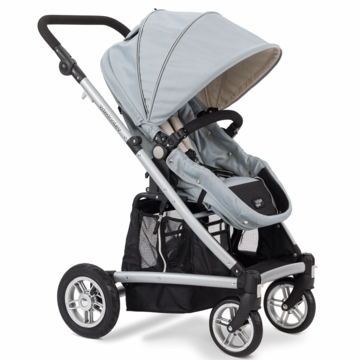 Valco Baby Spark Single Stroller in Sterling