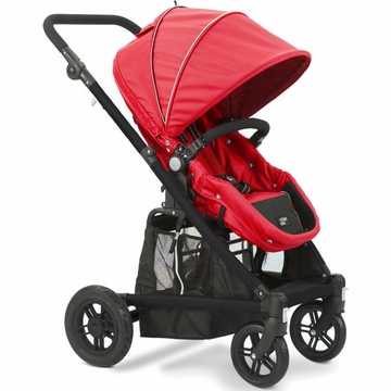 Valco Baby Spark Single Stroller in Strawberry