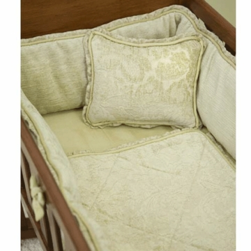 Green Frog Art Sagebrush 3 Piece Cradle Bedding Set