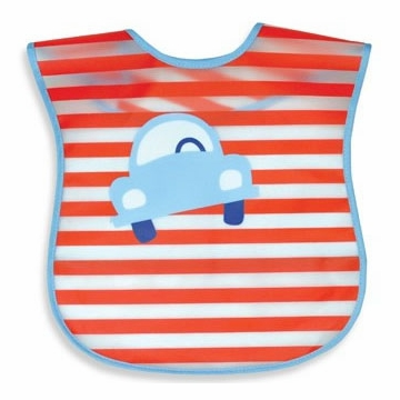 iPlay Wash 'n Wipe Bib - Red Car (Stage 4)