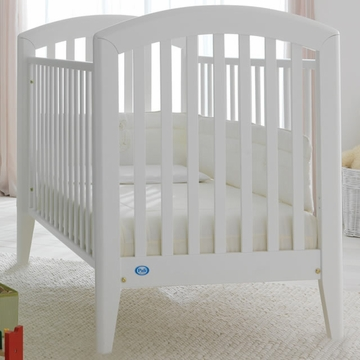 Pali Gala Fixed Sides Crib White