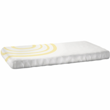 Nook Sleep System Fitted Crib Sheet in Ripple Daffodil