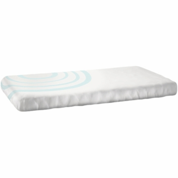 Nook Sleep System Fitted Crib Sheet in Ripple Glass