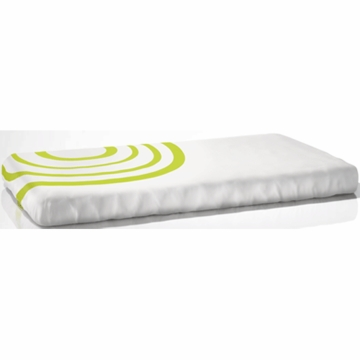 Nook Sleep System Fitted Crib Sheet in Ripple Lawn