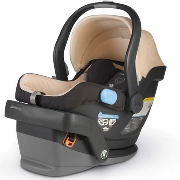 UppaBaby MESA Infant Car Seat in Lindsey (Wheat)