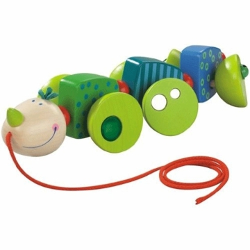 Haba Pulling Animal Cory Caterpillar