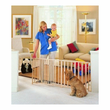 North States - Extra-Wide Swing Gate 4649