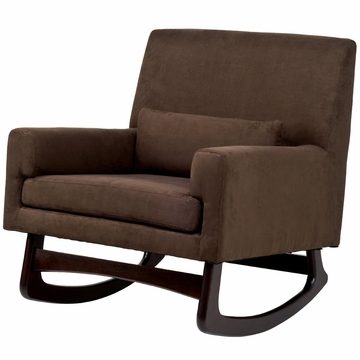 Nurseryworks Sleepytime Rocker in Mocha with Dark Base