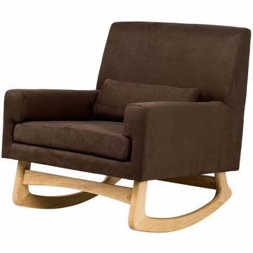 Nurseryworks Sleepytime Rocker in Mocha with Light Base