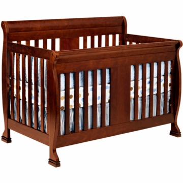 DaVinci Porter Crib with Toddler Rails in Cherry