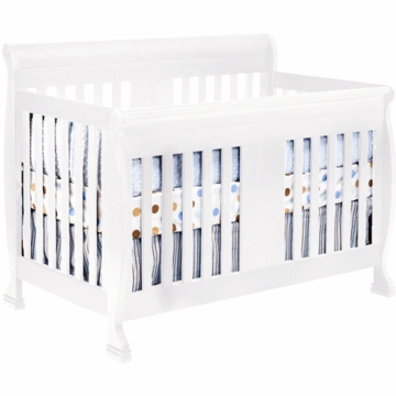 DaVinci Porter Crib with Toddler Rails in White