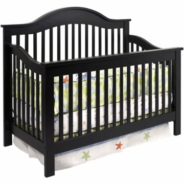 DaVinci Jayden 4-in-1 Convertible Crib Ebony