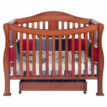 DaVinci Parker 4-in-1 Convertible Crib in Cherry Pine