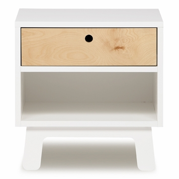 Oeuf Sparrow Collection Night Stand in White