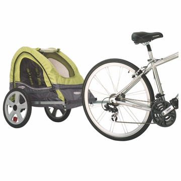 InSTEP Sync Bicycle Trailer-SingleGreen/Gray