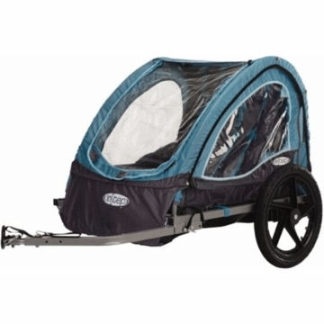 InStep Take 2 Bicycle Trailer in Turquoise/Grey