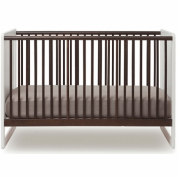 Oeuf Robin Collection Crib in White/Espresso