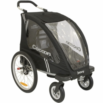 Joovy Single Cocoon Mutli-Function Stroller in Black