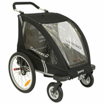 Joovy Double Cocoon X2 Mutli-Function Stroller in Black
