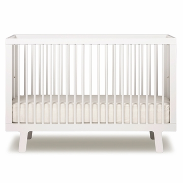 Oeuf Sparrow Collection Crib in White