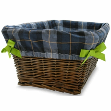 Lambs & Ivy Vroom Basket with Liner