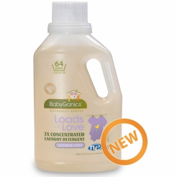 BabyGanics Loads of Love 64 Load Detergent 64 oz. in Lavender