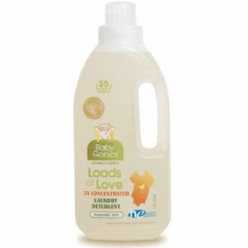 BabyGanics Loads of Love 64 Load Detergent 64 oz. in Unscented