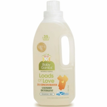 BabyGanics Loads of Love Laundry Detergent - 35 Loads